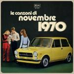 Le canzoni di novembre 1970